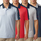 Adidas Golf 2016 Jason Day's Masters Pique Geo Block Mens Tour Golf Polo Shirt