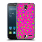 HEAD CASE DESIGNS NEON PRINTS SOFT GEL CASE FOR ALCATEL PHONES 2