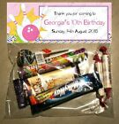 PERSONALISED BIRTHDAY LOLLY/LOOT BAG & TOPPER - Bowling / Ten Pin #2
