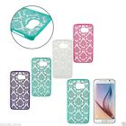 Top Damask Vintage Skin Pattern Case Cover For Samsung Galaxy S4/5/6Note3/4/5 UK