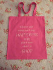 WOMENS LADIES GIRLS COTTON SHOPPING BAG NOVELTY PERFECT PERSONALISED GIFT