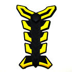 Multicolor Motorcycle 3D Fishbone Sticker Rubber Gas Tank Pad Decal Protector