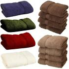 LUXURY HOTEL QUALITY SOFT COTTON HAND TOWELS SINGLE TOWEL OR BALE SET BATH PACK