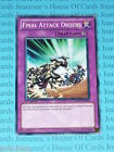 Final Attack Orders SDDL-EN034 Common Yu-Gi-Oh Card Mint 1st Edition New