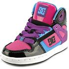 DC Shoes Rebound   Round Toe Leather  Skate Shoe NWOB