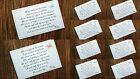Wedding Poem Gift Cards For Invitations Cash Money/honeymoon Gift