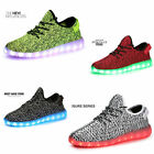 HOT New Unisex LED Light Luminous Charging Casual Dance Boys Girls Popular Shoes