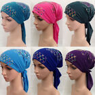 Kyпить Women Cancer Hat Chemo Cap Muslim Hair Loss Head Scarf Turban Head Wrap Cover на еВаy.соm