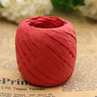 FD4082 Raffia Paper Ribbon Decorating Flowers Gifts Wrap Crafts Scrapbooks 20M
