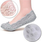 Women Cotton Lace Socks Antiskid Invisible Liner Socks Low Cut Socks Boat