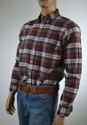 Ralph Lauren Classic Fit Red,Green White Plaid Long Sleeve Shirt/Green Pony-NWT