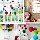 Paper Lantern Honeycomb Ball Tissue Pom Flower Party Wedding Hanging Decor