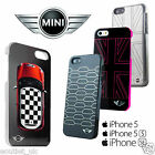 Official Mini Cooper Themed Protective Hard Cases for iPhone SE and 5/5s BOXED