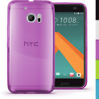 Glossy TPU Gel Case for HTC 10 2016 Protective Gel Skin Cover + Screen Protector