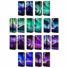 HEAD CASE DESIGNS NORTHERN LIGHTS LEATHER BOOK WALLET CASE FOR APPLE iPHONE 5C