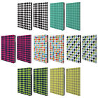 HEAD CASE DESIGNS HOUNDSTOOTH-PATTERNS LEATHER BOOK CASE FOR APPLE iPAD AIR