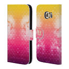 HEAD CASE DESIGNS STUDDED OMBRE LEATHER BOOK CASE FOR SAMSUNG GALAXY S6 EDGE