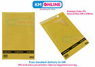 F3 / F Size Bubble Padded Gold Envelope Mailing Post Bag 230 x 340mm Pukka Pad