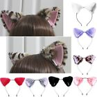 Orecchiette Party Cat Fox Long Fur Ears Anime Neko Costume Headband Cosplay US
