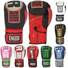 NEW Ringside Apex Flash Sparring, Durable Leather Gloves w/ Loop Closure