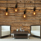 Photo Wallpaper BROWN WOODEN PLANKS  Wall Mural (3373VE)