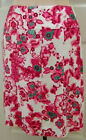 ETCETERA FLORAL PINK WHITE PANELED LINED SKIRT WILDFLOWER sizes 0 / 4 NEW $135
