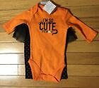 NWT Carter's Just One You Halloween Bodysuit & Tutu Leggings Set ~Infant Sizes