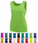 LADIES MOISTURE WICKING, BASIC TANK TOP,  RUNNING / WORKOUT / YOGA S M L XL 2X