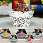 50xHollow Vine Lace Cup Muffin Cake Paper Cases Wraps Cupcake Wrapper Decor C