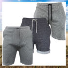 MENS JERSEY JOGGING GYM SWEAT LOUNGEWEAR SUMMER SHORTS BY BRAVE SOUL (S-XL)