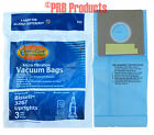 Bissell 3267 Allergy Vacuum Cleaner Bags Upright Powerglide Pet Velocity Bagged