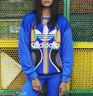 ADIDAS Originals FARM Tukana Trefoil Logo Bird Sweater Blue Jumper New AJ8146
