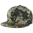 New Era 59Fifty San Diego Padres Fitted Hat (Digi Ripstop Camo) Men's Custom Cap