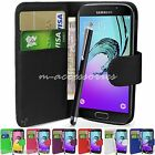 PU Leather Wallet Case Cover Pouch For Samsung Galaxy J3 J320 Mobile Phone