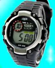 DW325E Black Watchcase Chronograph Alarm PNP Matt Silver Bezel Men Digital Watch