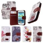 New Leather Flip Wallet Holster Stand Cover For Samsung Galaxy S3 III Mini i8190