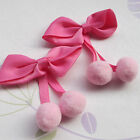 Upick 20pcs Mix Lovely Grosgrian Ribbon Bows Sewing Appliques 75x60mm