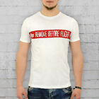 Alpha Industries T-Shirt Herren Remote Before Flight weiss Männer RBFT Mens