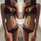 Ladies Swimwear Bikini Set Push-Up Padded Swimsuit Bottom Bathing Suit Beachwear