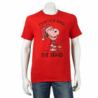 Snoopy Woodstock Christmas T-Shirt Men's size Large XL or 2X, New w/Tag!