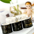 Hot Gold Foil Printing For Christmas Set Japanese Washi Paper Tape 15mmX5m ##