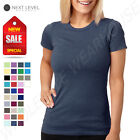 NEW Next Level Women's Junior Fit CVC Crew Neck XS-2XL T-Shirt M-6610