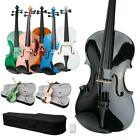 Optional Student 15 16 inch Green Blue Pink Acoustic Viola  Case  Bow  Rosin