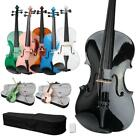 Optional Student 15 16 inch Acoustic Viola  Case  Bow  Rosin