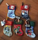 NWT Star Wars Mini Christmas Stocking Choice of Yoda, Darth Vader, Storm Trooper