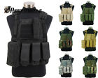 Hunting Camouflage Tactical Military Molle Combat Assault Plate Carrier Vest