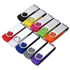 8GB 16GB 32GB USB 2.0 Swivel Flash Memory Stick Pen Drive Storage Thumb U Disk
