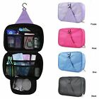 Travel portable hanging Cosmetics Make Up Bag Wash Storage Organiser Zipper Case