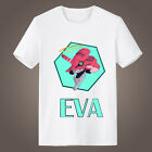 Neon Genesis Evangelion EVA Cotton Short Sleeve T-shirt Casual Loose Fit Tee Top