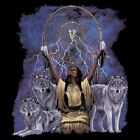 NEU Fantasy Chopper Biker T-Shirt Indianer Wolf Maiden Dreamcatcher S - 6XL